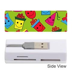 Happy Birthday Background Memory Card Reader (Stick)