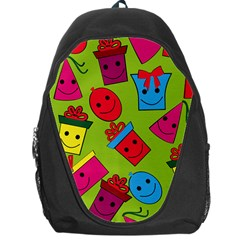 Happy Birthday Background Backpack Bag