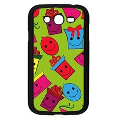 Happy Birthday Background Samsung Galaxy Grand DUOS I9082 Case (Black)