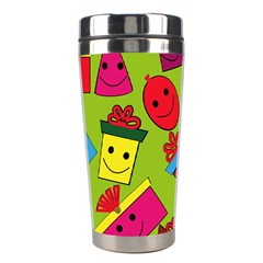 Happy Birthday Background Stainless Steel Travel Tumblers