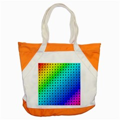 Letters Numbers Color Green Pink Purple Accent Tote Bag