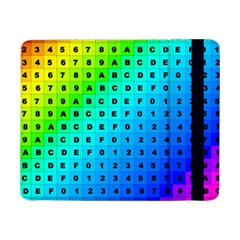 Letters Numbers Color Green Pink Purple Samsung Galaxy Tab Pro 8.4  Flip Case