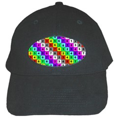 Mapping Grid Number Color Black Cap