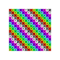 Mapping Grid Number Color Acrylic Tangram Puzzle (4  x 4 )