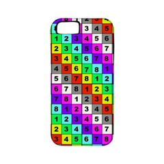Mapping Grid Number Color Apple iPhone 5 Classic Hardshell Case (PC+Silicone)