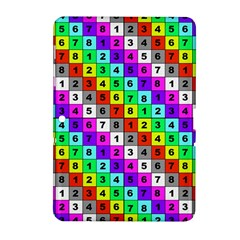 Mapping Grid Number Color Samsung Galaxy Tab 2 (10.1 ) P5100 Hardshell Case