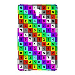Mapping Grid Number Color Samsung Galaxy Tab S (8.4 ) Hardshell Case