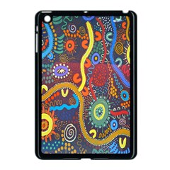 Mbantua Aboriginal Art Gallery Cultural Museum Australia Apple iPad Mini Case (Black)
