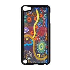 Mbantua Aboriginal Art Gallery Cultural Museum Australia Apple iPod Touch 5 Case (Black)