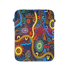 Mbantua Aboriginal Art Gallery Cultural Museum Australia Apple iPad 2/3/4 Protective Soft Cases