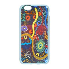 Mbantua Aboriginal Art Gallery Cultural Museum Australia Apple Seamless iPhone 6/6S Case (Color)