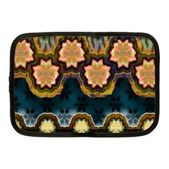 Ornate Floral Textile Netbook Case (Medium)