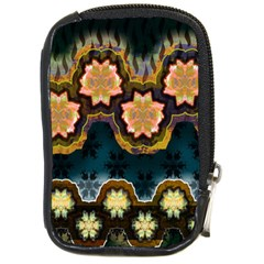 Ornate Floral Textile Compact Camera Cases