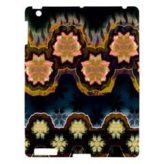 Ornate Floral Textile Apple iPad 3/4 Hardshell Case