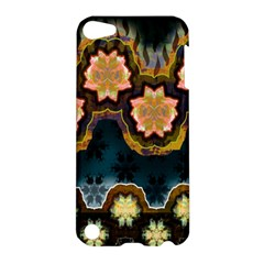 Ornate Floral Textile Apple iPod Touch 5 Hardshell Case