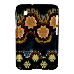 Ornate Floral Textile Samsung Galaxy Tab 2 (7 ) P3100 Hardshell Case