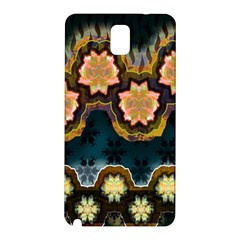 Ornate Floral Textile Samsung Galaxy Note 3 N9005 Hardshell Back Case
