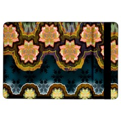 Ornate Floral Textile iPad Air 2 Flip