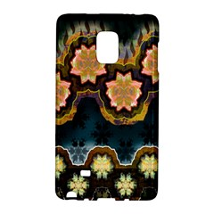 Ornate Floral Textile Galaxy Note Edge