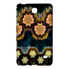 Ornate Floral Textile Samsung Galaxy Tab 4 (7 ) Hardshell Case