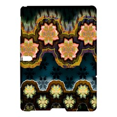 Ornate Floral Textile Samsung Galaxy Tab S (10.5 ) Hardshell Case