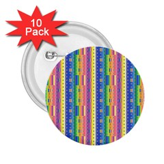 Psychedelic Carpet 2.25  Buttons (10 pack)