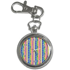Psychedelic Carpet Key Chain Watches