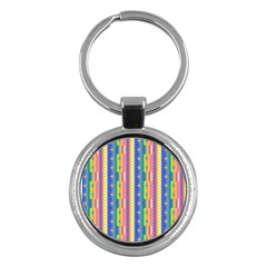 Psychedelic Carpet Key Chains (Round)