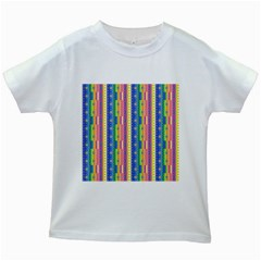 Psychedelic Carpet Kids White T-Shirts