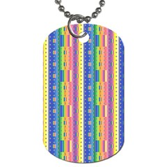 Psychedelic Carpet Dog Tag (One Side)