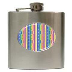 Psychedelic Carpet Hip Flask (6 oz)