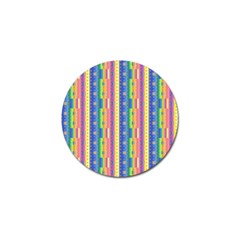 Psychedelic Carpet Golf Ball Marker (10 pack)