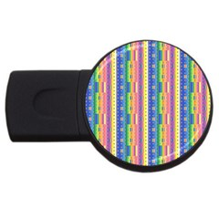Psychedelic Carpet USB Flash Drive Round (2 GB)