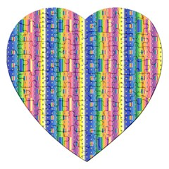 Psychedelic Carpet Jigsaw Puzzle (Heart)