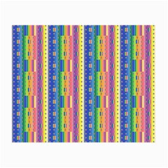 Psychedelic Carpet Small Glasses Cloth