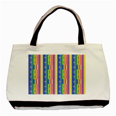 Psychedelic Carpet Basic Tote Bag (Two Sides)