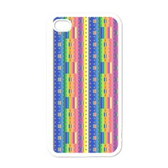 Psychedelic Carpet Apple iPhone 4 Case (White)