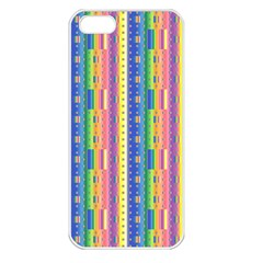 Psychedelic Carpet Apple iPhone 5 Seamless Case (White)