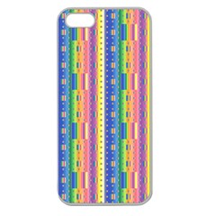 Psychedelic Carpet Apple Seamless iPhone 5 Case (Clear)