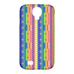 Psychedelic Carpet Samsung Galaxy S4 Classic Hardshell Case (PC+Silicone)