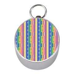 Psychedelic Carpet Mini Silver Compasses