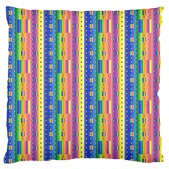 Psychedelic Carpet Large Flano Cushion Case (Two Sides)