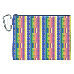Psychedelic Carpet Canvas Cosmetic Bag (XXL)