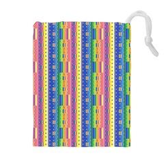 Psychedelic Carpet Drawstring Pouches (Extra Large)