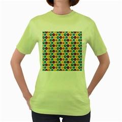 Star Ball Women s Green T-Shirt