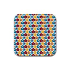 Star Ball Rubber Coaster (Square)