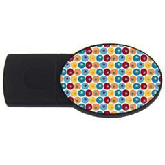 Star Ball USB Flash Drive Oval (1 GB)