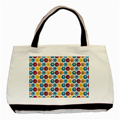 Star Ball Basic Tote Bag (Two Sides)