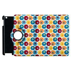 Star Ball Apple iPad 2 Flip 360 Case
