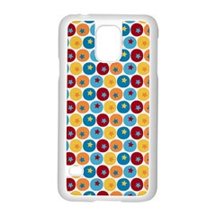 Star Ball Samsung Galaxy S5 Case (White)